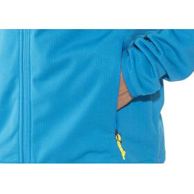 Columbia Walnut Hills Full Zip Fleece Jacket Men Dark Compass/Acid Yellow